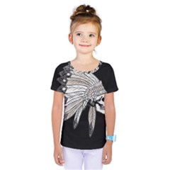 Indian Chef  Kids  One Piece Tee
