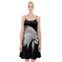 Indian Chef  Spaghetti Strap Velvet Dress