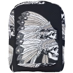 Indian Chef  Full Print Backpack
