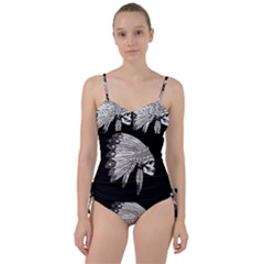 Indian Chef  Sweetheart Tankini Set