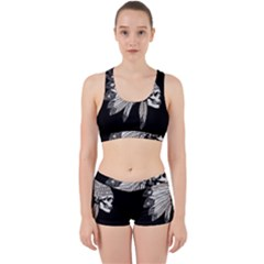 Indian Chef  Work It Out Sports Bra Set