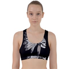 Indian Chef  Back Weave Sports Bra