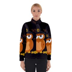 Halloween Orange Witch Owl Winterwear