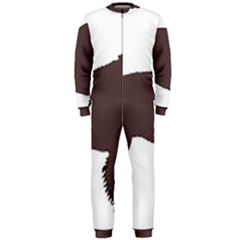 American Water Spaniel Silo Color Onepiece Jumpsuit (men)