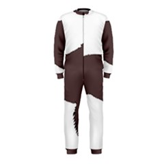 American Water Spaniel Silo Color Onepiece Jumpsuit (kids)
