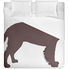 American Water Spaniel Silo Color Duvet Cover (king Size)