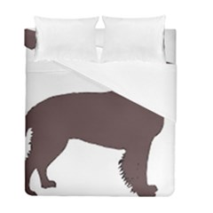 American Water Spaniel Silo Color Duvet Cover Double Side (full/ Double Size)