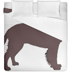 American Water Spaniel Silo Color Duvet Cover Double Side (king Size)
