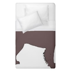 American Water Spaniel Silo Color Duvet Cover (single Size)