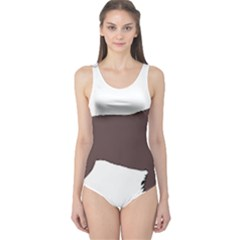 American Water Spaniel Silo Color One Piece Swimsuit