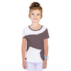 American Water Spaniel Silo Color Kids  One Piece Tee