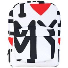 I Love My American Water Spaniel Full Print Backpack
