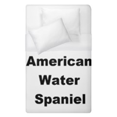 A Is For American Water Spaniel Duvet Cover (single Size)