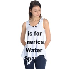 A Is For American Water Spaniel Sleeveless Tunic