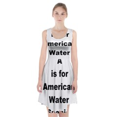A Is For American Water Spaniel Racerback Midi Dress
