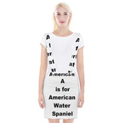 A Is For American Water Spaniel Braces Suspender Skirt