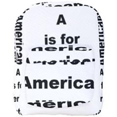 A Is For American Water Spaniel Full Print Backpack