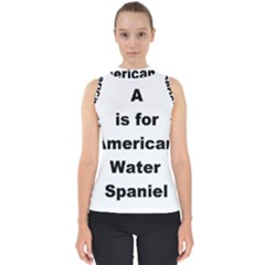 A Is For American Water Spaniel Shell Top