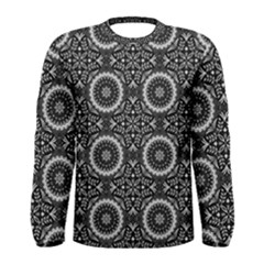 Oriental Pattern Men s Long Sleeve Tee