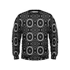 Oriental Pattern Kids  Sweatshirt
