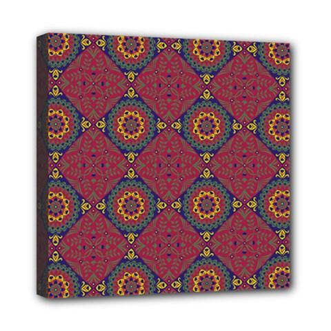 Oriental Pattern Mini Canvas 8  X 8