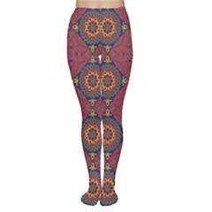 Oriental Pattern Women s Tights