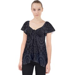 Oriental Pattern Dolly Top