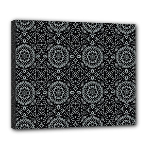 Oriental Pattern Deluxe Canvas 24  X 20