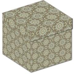 Oriental Pattern Storage Stool 12