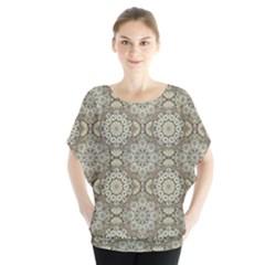 Oriental Pattern Blouse