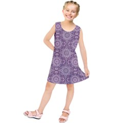 Oriental Pattern Kids  Tunic Dress