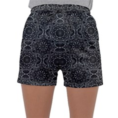 Oriental Pattern Sleepwear Shorts