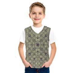 Stylized Modern Floral Design Kids  Sportswear