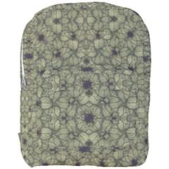 Stylized Modern Floral Design Full Print Backpack