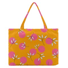 Playful Mood Ii Zipper Medium Tote Bag