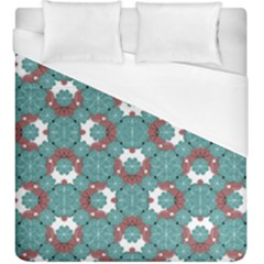 Colorful Geometric Graphic Floral Pattern Duvet Cover (king Size)