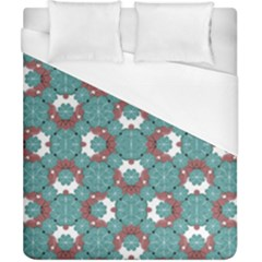 Colorful Geometric Graphic Floral Pattern Duvet Cover (california King Size)