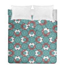 Colorful Geometric Graphic Floral Pattern Duvet Cover Double Side (full/ Double Size)