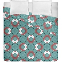 Colorful Geometric Graphic Floral Pattern Duvet Cover Double Side (king Size)