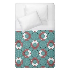 Colorful Geometric Graphic Floral Pattern Duvet Cover (single Size)
