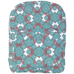 Colorful Geometric Graphic Floral Pattern Full Print Backpack