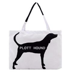 Plott Hound Name Silo Zipper Medium Tote Bag