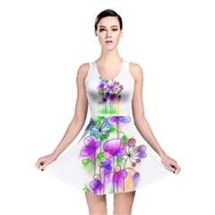 Flovers 23 Reversible Skater Dress