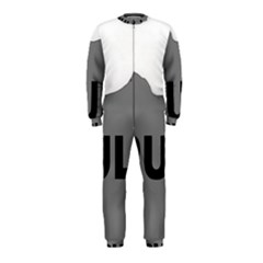 Puli Name Grey Silhouette Onepiece Jumpsuit (kids)