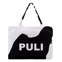 Puli Name Silhouette Medium Tote Bag