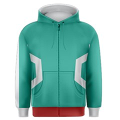 Shrub Hero Men s Zipper Hoodie
