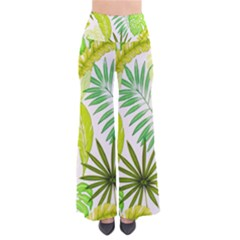 Amazon Forest Natural Green Yellow Leaf Pants