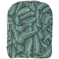 Coconut Leaves Summer Green Full Print Backpack