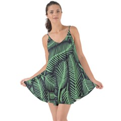 Coconut Leaves Summer Green Love The Sun Cover Up