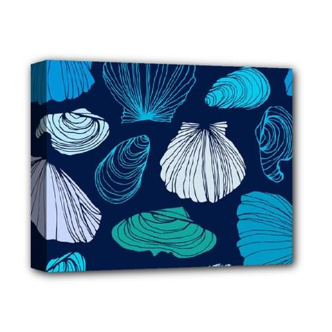 Mega Menu Seashells Deluxe Canvas 14  X 11